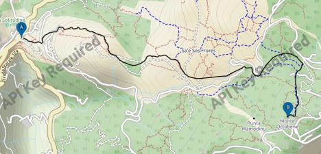mappa monte
