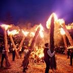 """Il rito de """" IS FRACCHERAS""""  a  Gadoni, un rito unico che si ripete ogni  2 Novembre"""